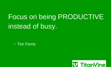 Motivational Quote from Tim Ferris