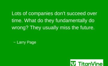 Motivational Quote from Larry Page