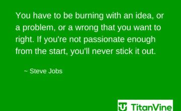 Motivational Quote from Steve Jobs